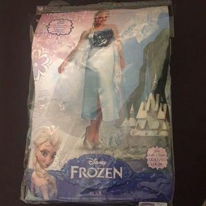 Disney's Frozen Elsa Dress-Adult XL